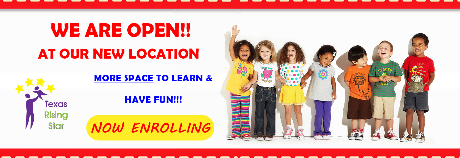 Open Now Enrolling Little Creations Learning Center